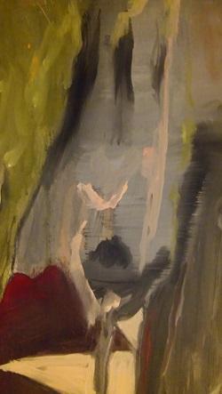 abstracte personen schilderen